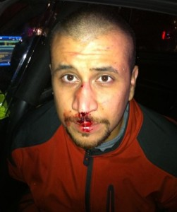 George Zimmerman at Police Station After Shooting Martin