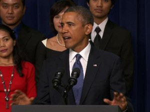 Click image for video response from President Obama.