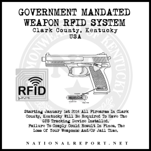 Weapon RFID System