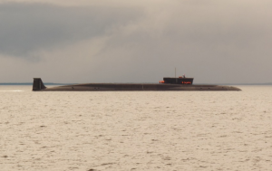 Russian Navy Nuclear-Powered Submarine Taken in 2012
