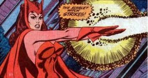 Wanda Maximoff, aka The Scarlet Witch, is a violent gypsy who dresses provocatively in front of all sorts of men, then complains about being raped in an upcoming funny book.