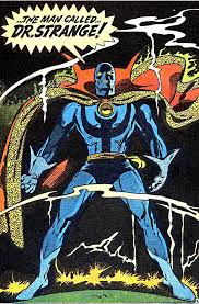 This illustration by the late Gene Colan helped establish Doctor Strange as a Fetish Industry icon, popularizing the wearing of latex and rubber kinkwear outside of England during the AIDS era