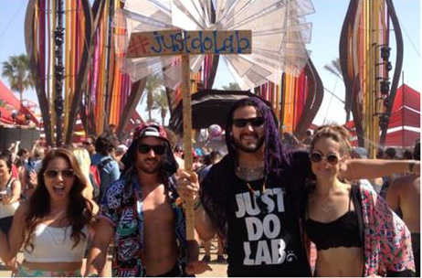 Hippies at Coachella's Do Lab