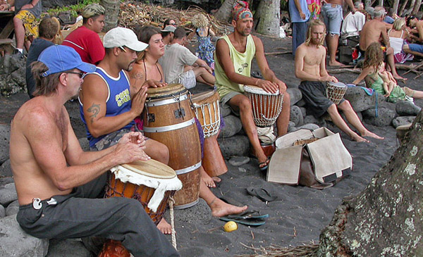 Hippy Drum Circle at Coachella 2014