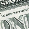 Bank Note with the words In God We Trust at the top