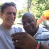 Anthony Cumia & Carlton enjoying the 4th of July weekend