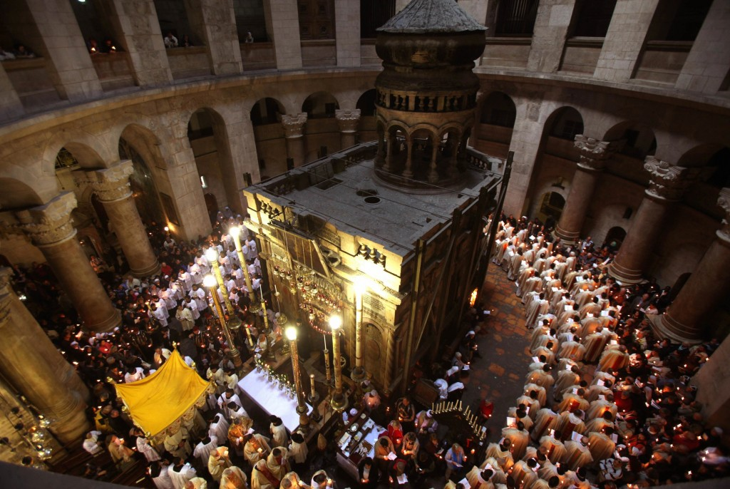 Church Of The Holy Sepulchre Destroyed In Hamas Attack