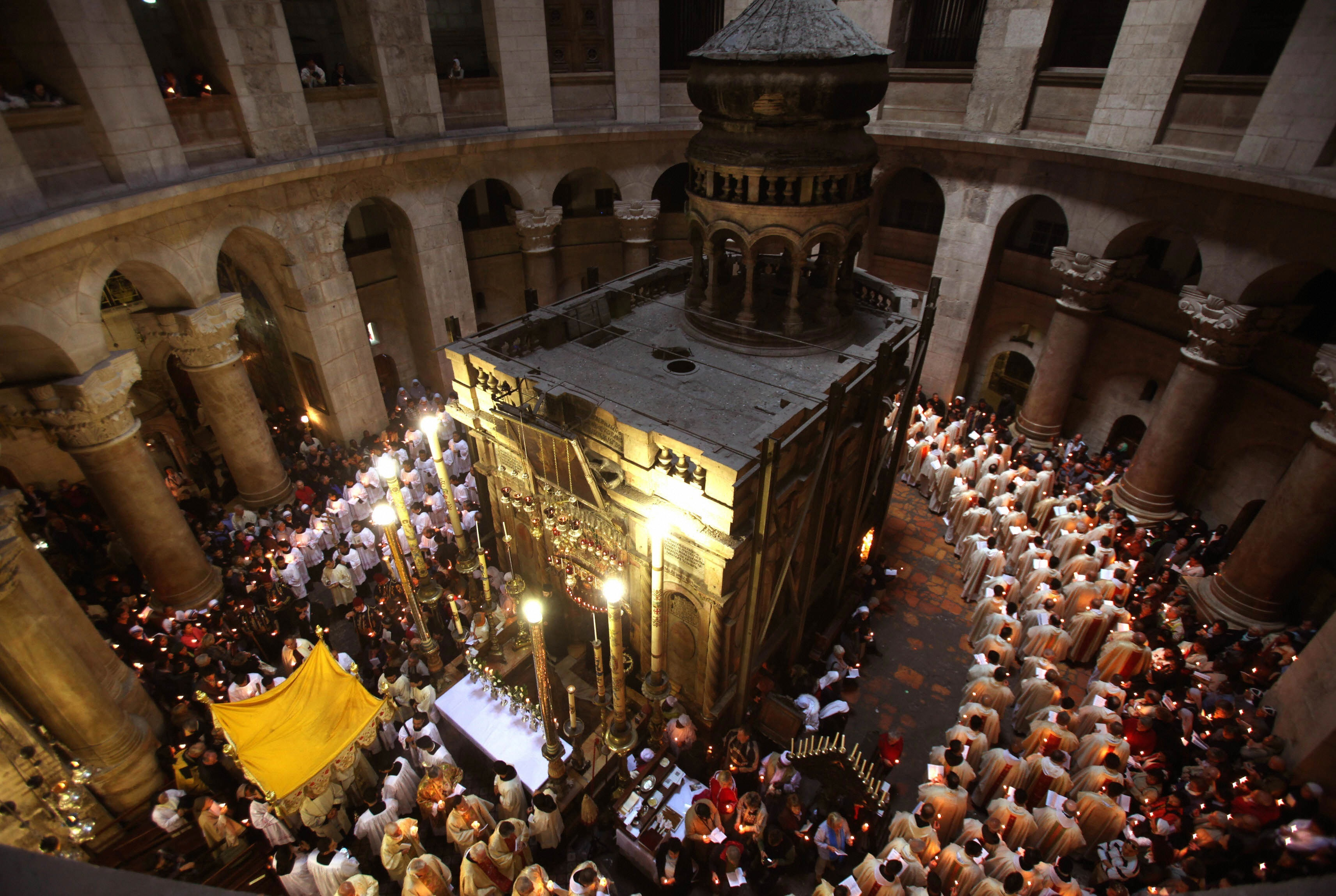 Image result for holy sepulchre in jerusalem