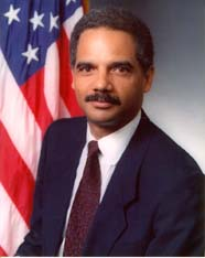 Eric Holder, USDOJ, Public Domain