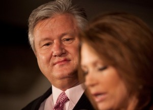 Michele Bachmann announces end of her 36-year marriage to husband Marcus Bachmann.