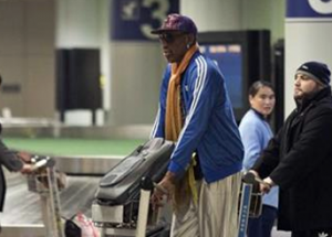 Dennis Rodman leaves the United States to talk with ISIS