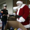 The Marine Corps Toys for Tots Foundation have been collecting and distribution presents for the under-privileged since 1947