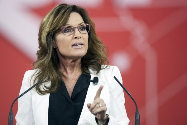Sarah Palin Banned From Facebook For Calling BLM Protesters