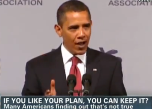 President Obama lying to Americans & using mainstream media to sell his crap to the public